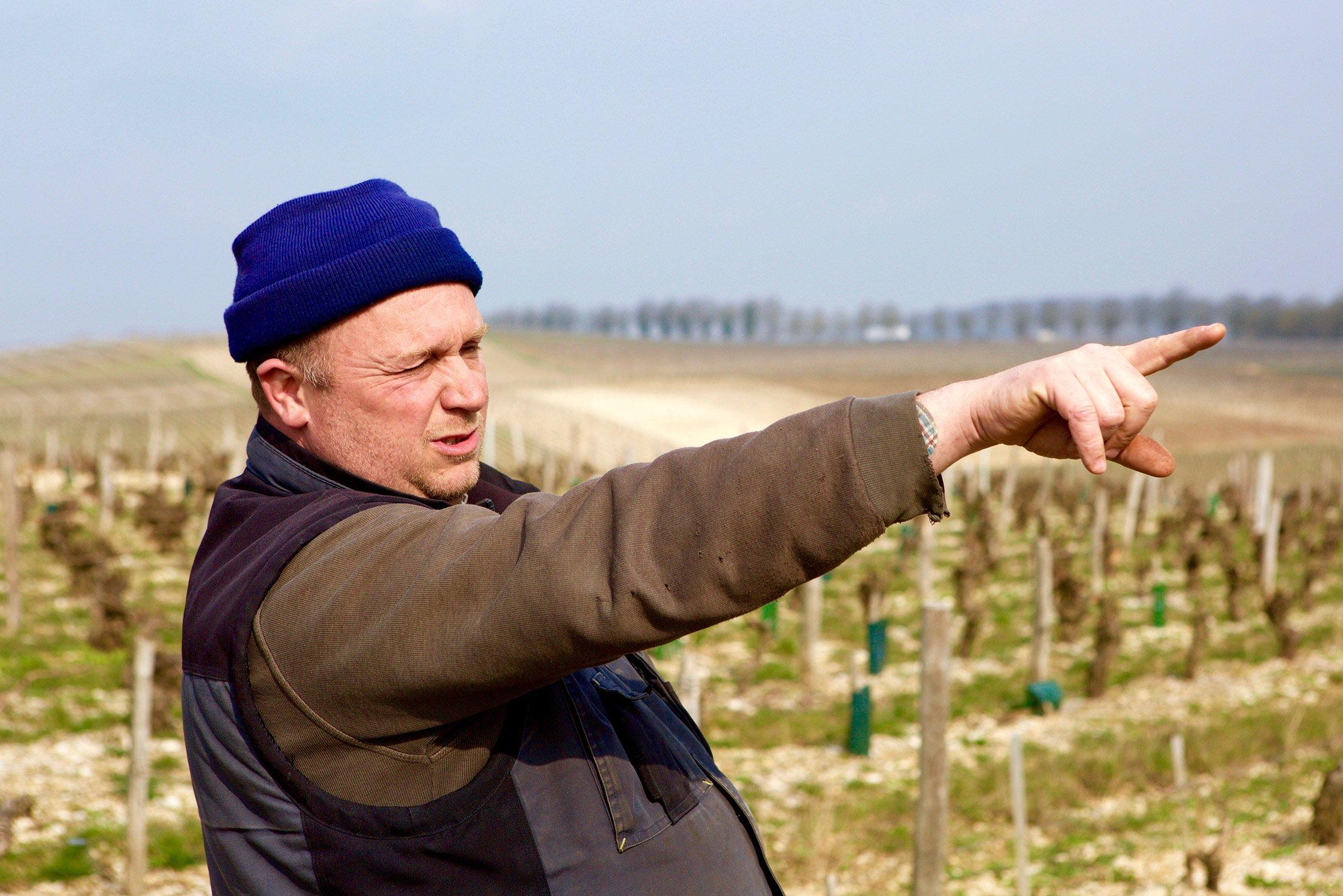 François Crochet, winemaker from Sancerre, Loire Valley