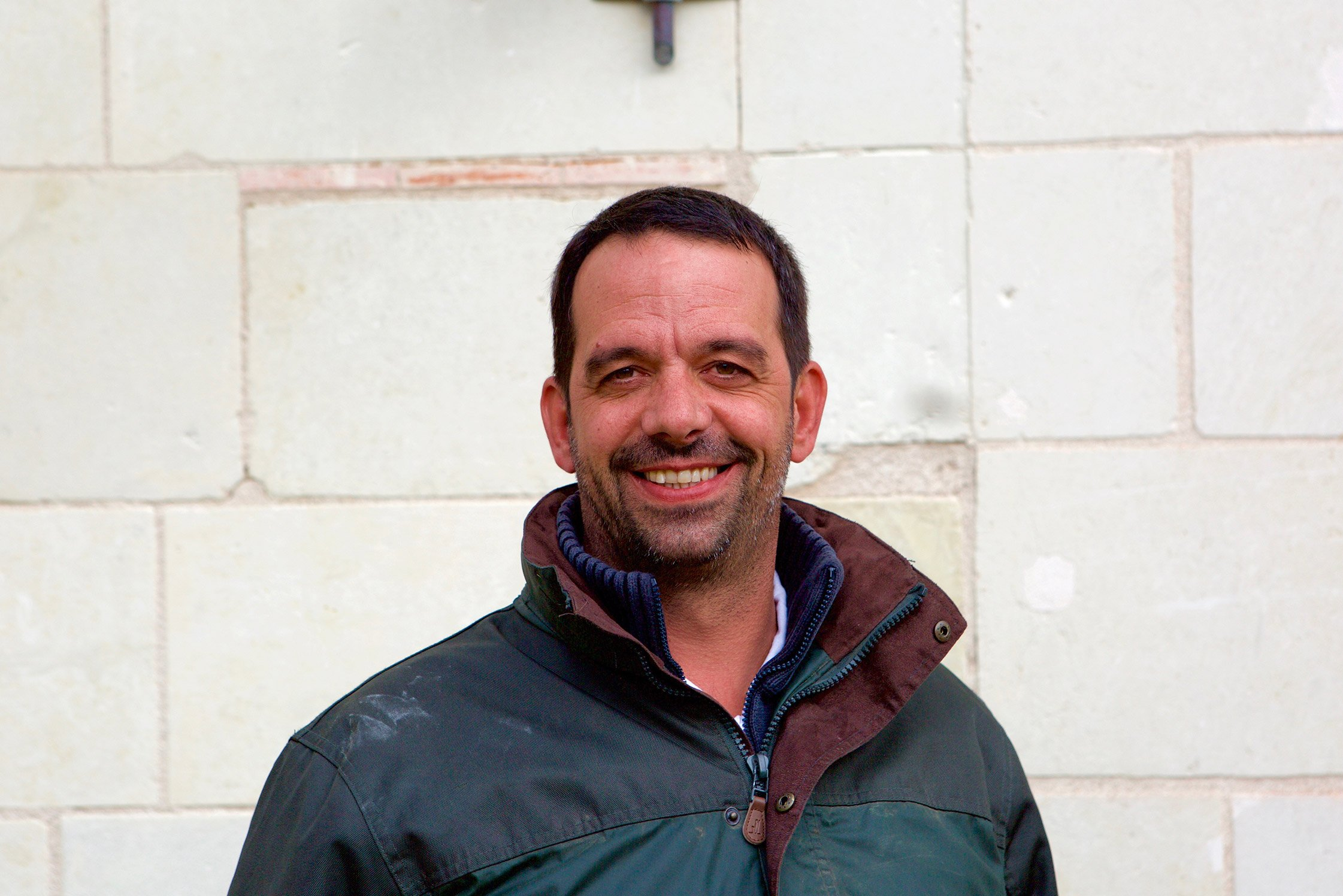 Romain Guiberteau, winemaker from Saumur in the Loire Valley