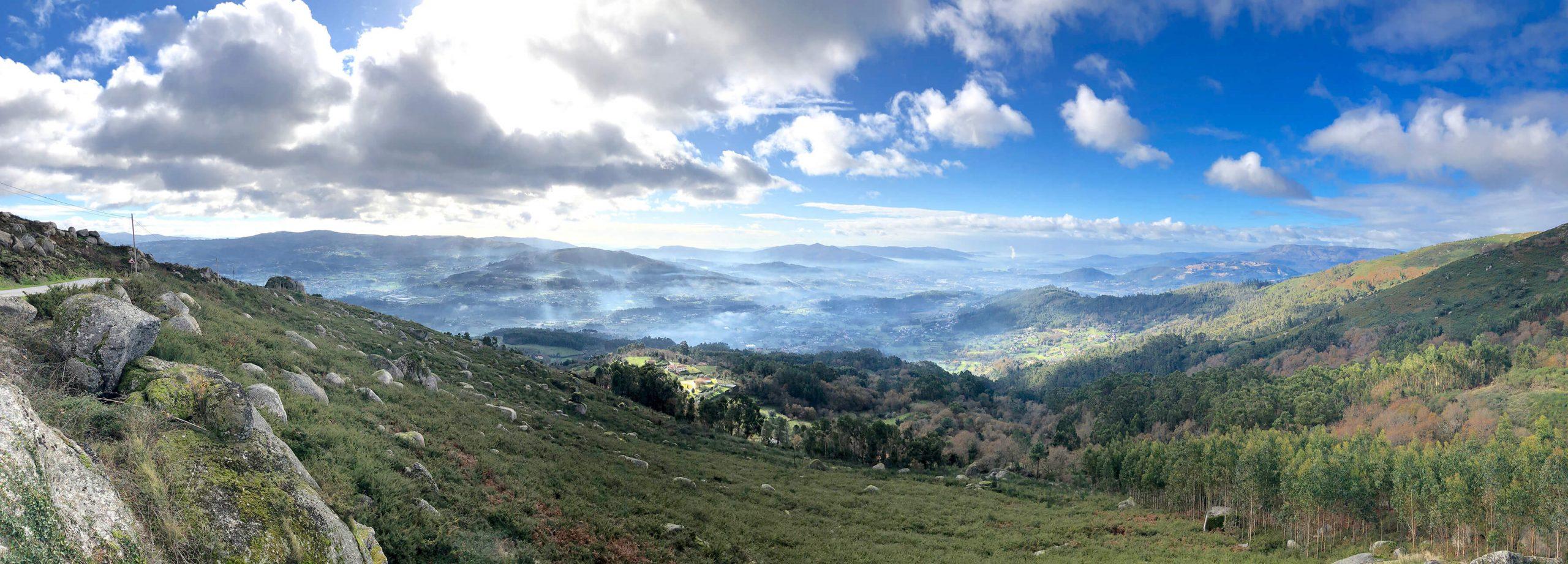 Portuguese landscape in Vinho Verde
