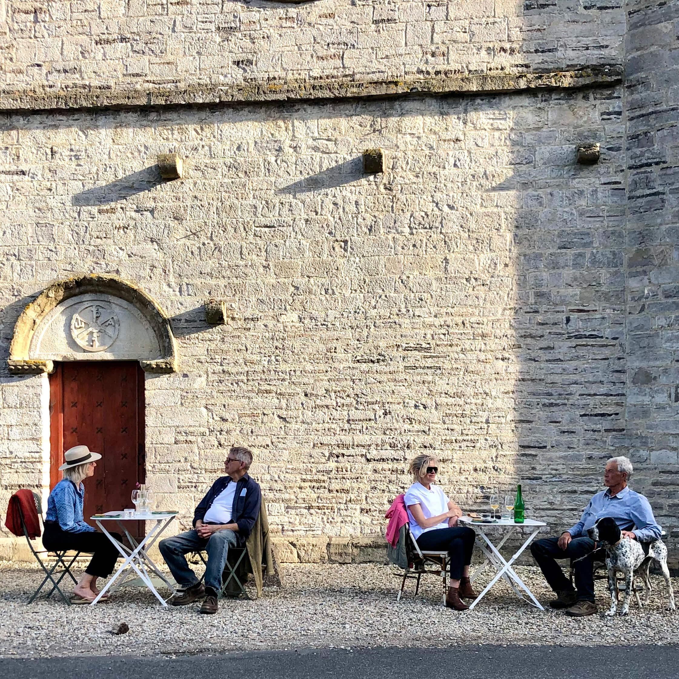 Andrein, France, a week after restaurants reopened